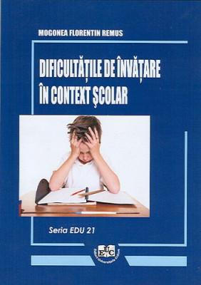 Dificultatile de invatare in context scolar