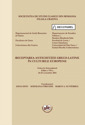 Receptarea antichitatii greco-latine in culturile europene