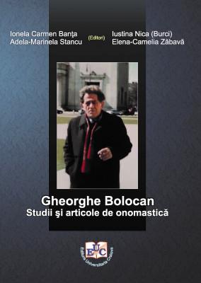 Gheorghe Bolocan: studii şi articole de onomastică