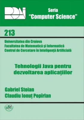 Tehnologii Java pentru dezvoltarea aplicatiilor