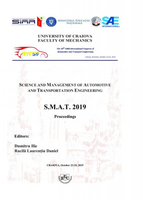 SCIENCE AND MANAGEMENT OF AUTOMOTIVE AND TRANSPORTATION ENGINEERING S.M.A.T. 2019 Proceedings