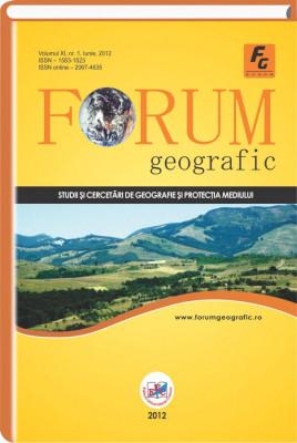 Forum Geografic, Vol. XI, nr. 1, Iunie, 2012