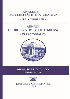 ANALELE UNIVERSITĂŢII DIN CRAIOVA - SERIA GEOGRAFIE, ANUL 2019, VOL. XX