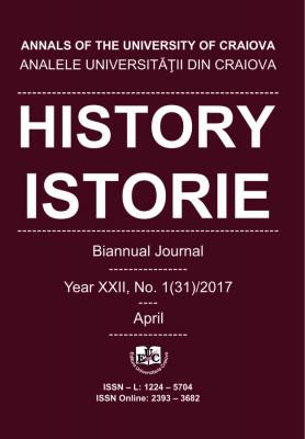 Analele Universității din Craiova, Seria Istorie, An XXII, Nr. 1(31)/2017