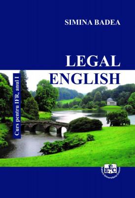 Legal English. Curs pentru IFR, anul I