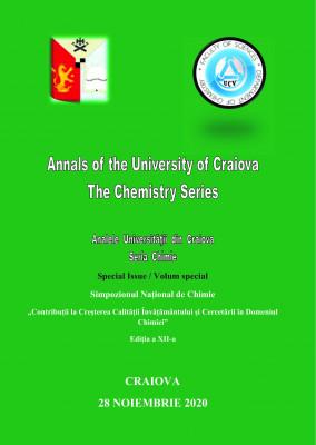 Analele Universitatii din Craiova, Seria Chimie, Volum Special, Noiembrie 2020