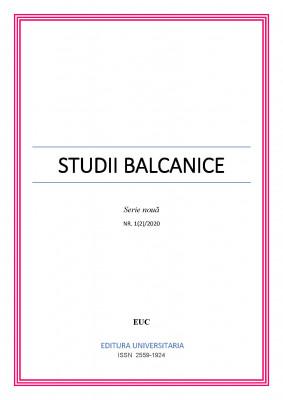 STUDII BALCANICE, Serie nouă, Nr. 1(2)/2020