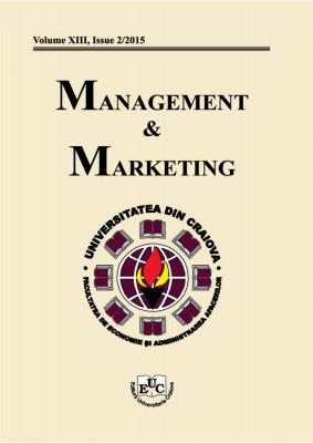 Management & Marketing, XIII, Issue 2/2015