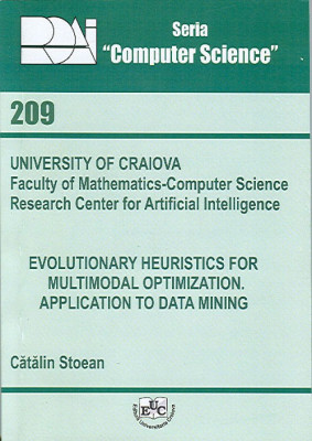 Evolutionary Heuristics for Multimodal Optimization. Application to Data Mining,