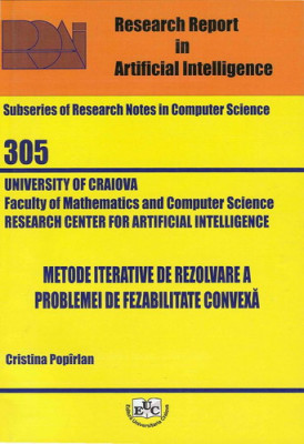 Metode iterative de rezolvare a problemei de fezabilitate convexa