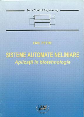 Sisteme automate neliniare. Aplicatii in biotehnologie
