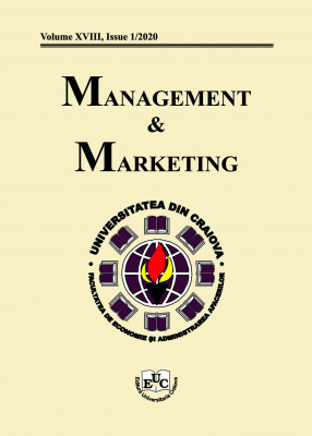Management&Marketing, Volume XVIII, Issue 1/2020