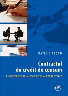 Contractul de credit de consum.