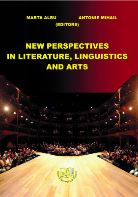 NEW PERSPECTIVES IN LITERATURE, LINGUISTICS AND ARTS