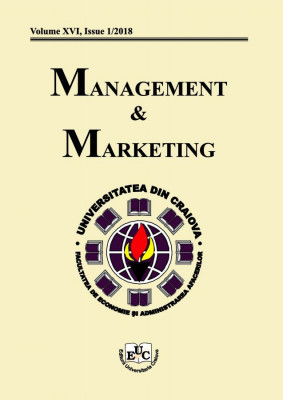 Management&Marketing, volume XVI, Issue 1/2018