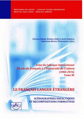 LE FRANCAIS LANGUE ENTRANGERE: SCENOGRAPHIES DIDACTIQUES ET RECOMPOSITIONS FORMATIVES
