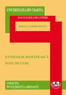 ETNOLOGIE ROMÂNEASCĂ
