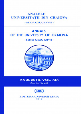 ANNALS OF THE UNIVERSITY OF CRAIOVA - SERIES GEOGRAPHY - Year 2018, VOL. XIX