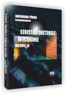 Cercetari doctorale in economie, Vol. III