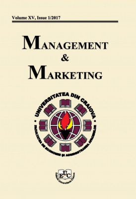Management & Marketing, Vol. XV, Issue 1/2017