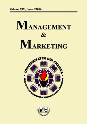 Management & Marketing, Vol. XIV, Issue 1/2016