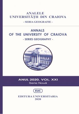 ANALELE UNIVERSITĂŢII DIN CRAIOVA - SERIA GEOGRAFIE - Anul 2020, vol. XXI