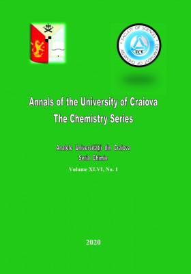 Analele Universitatii din Craiova, Seria Chimie, Vol. XLVI, nr. 1 (2020)