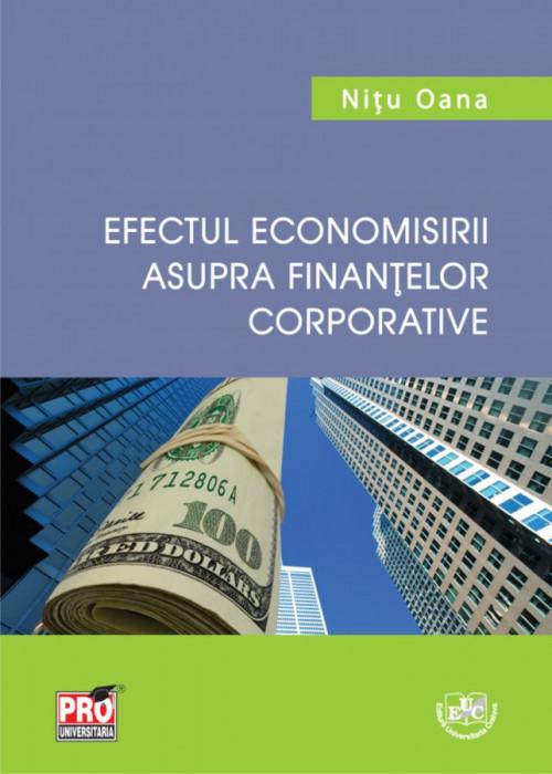 Efectul economisirii asupra finanţelor corporative
