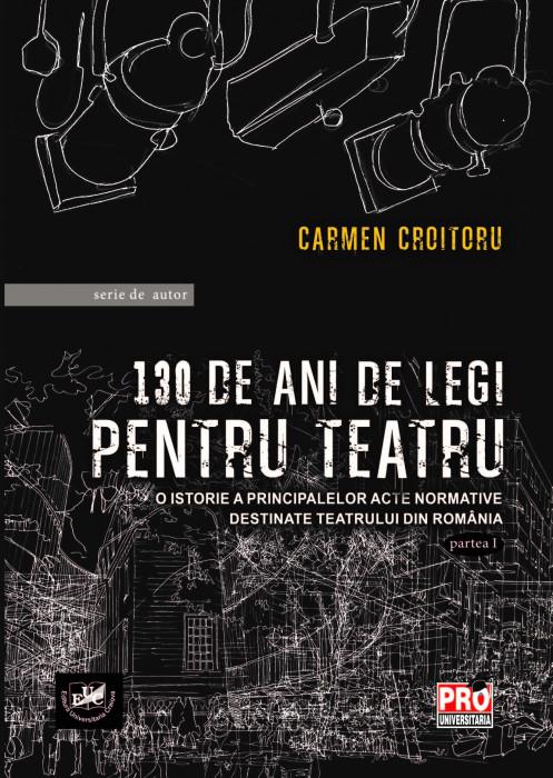 130 de ani de legi pentru teatru